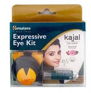 Himalaya Expressive Kajal 2.7 gm & Wipes Combo Pack