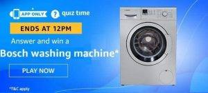 Amazon Quiz Answers and Win Awesome Prizes