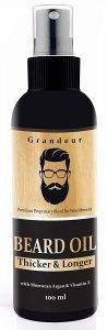 Grandeur Mooch And Beard Oil For Men