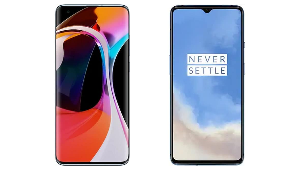 Mi 10 v/s OnePlus 7T: Price in India, Specifications Compare