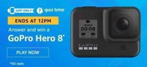 Amazon Quiz  Answers and Win Go pro hero 8 (26 June 2020)