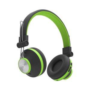 Ant Audio Treble H82 On Ear Bluetooth Headphone with Mic (Black Green)