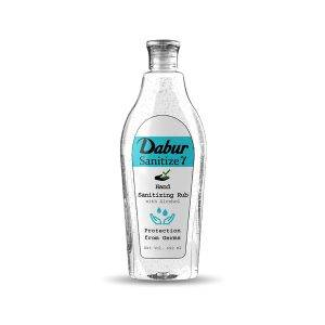 Dabur Sanitize γ - Hand Sanitizer Alcohol Based Sanitizer - 450 ml