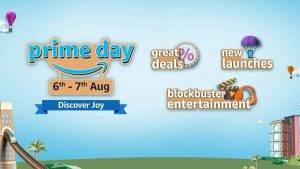 Amazon Prime Day Sale 6 – 7 August 2020