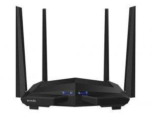 Tenda AC10 1200Mbps Wireless Smart Dual-Band Gigabit WiFi Router (Black)
