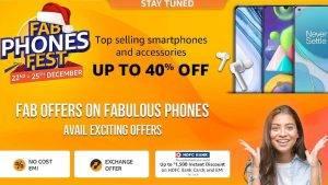 Amazon Fab Phones Fest 22 – 25 December 2020