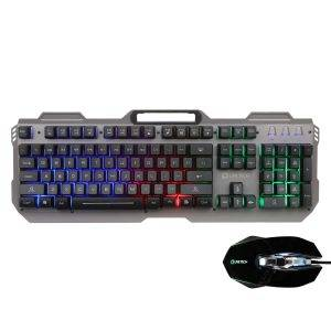 Live Tech Evon Wired Gaming Combo with LED Backlit Keyboard & Mouse